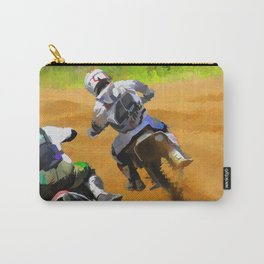 Motocross Dirt Racers Carry-All Pouch