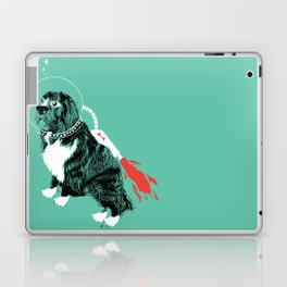 A Flying Dog In Outer Space Laptop & iPad Skin