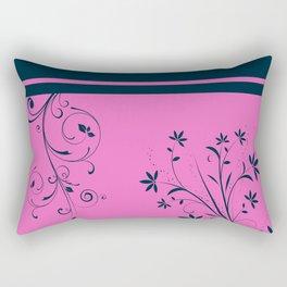 Floral Dreams Rectangular Pillow
