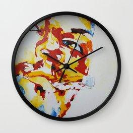 chillaxing attitude Wall Clock