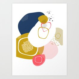 summer berries Art Print