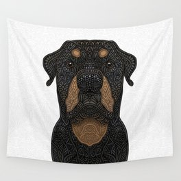 Rottweiler - Teddy Wall Tapestry