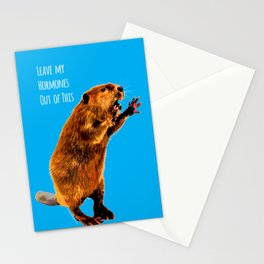 Leave My Hormones Out of This! Stationery Cards