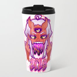 Lily FTW in Pinku Travel Mug