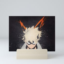 Katsuki Bakugou - Boku no My hero Mini Art Print