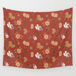 Floral Pattern 111-21CW9 Wall Tapestry