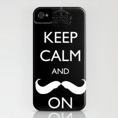 Mustache Slim Case iPhone (4, 4s)