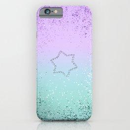 Sparkling MERMAID Glitter Star #1 #decor #art #society6 iPhone Case