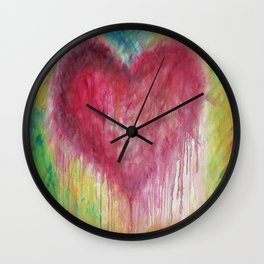 Heart Therapy - 'Tracey's Heart' Wall Clock
