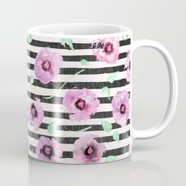 Grunge Desert Rose (lilac) Coffee Mug