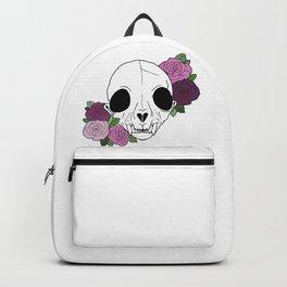 skull of roses Backpack