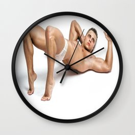 And Stretch Wall Clock