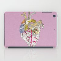 ellie goulding iPad Cases featuring my heart is real by Bianca Green