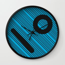 Geometric Calendar - Day 18 Wall Clock