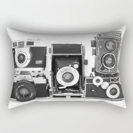 Vintage Camera Collection Rectangular Pillow