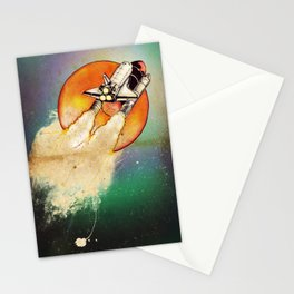 Blast Off Stationery Cards