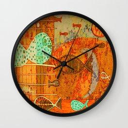 II VII digitized Wall Clock