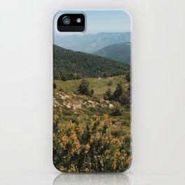 Laguna de los Pájaros Trail iPhone Case
