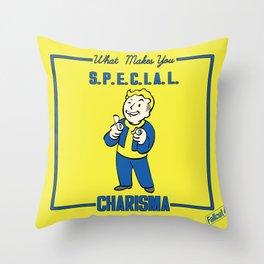 Charisma S.P.E.C.I.A.L. Fallout 4 Throw Pillow