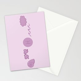 Pisces Aesthetics Stationery Cards