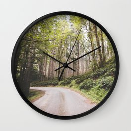 The Road to Olympia Wall Clock