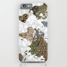 CAMO WORLD ATLAS MAP (white) iPhone 6s Slim Case
