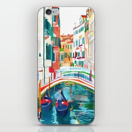Canal in Venice iPhone Skin