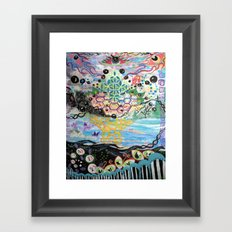 OSMOSIS Framed Art Print