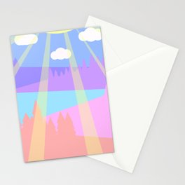 Spend time here Stationery Cards