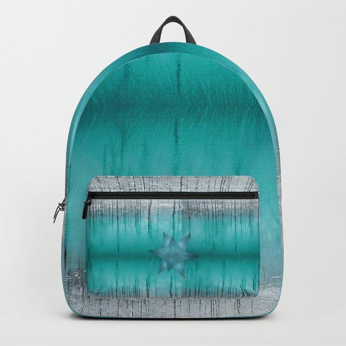 Crystal frozen star forest Backpack