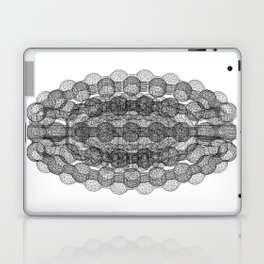 GEOMETRIC NATURE: COULOMB CRYSTAL b/w Laptop & iPad Skin