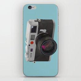 Leica M9 Camera polygon art iPhone Skin