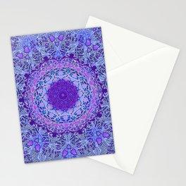 Wisteria Mandala Stationery Cards