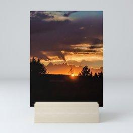 Sun N' Tree Mini Art Print