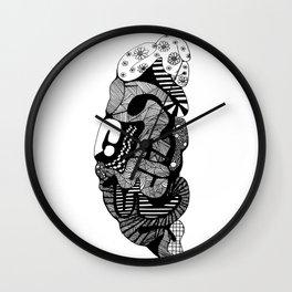 The Creative Side - Brain Wall Clock