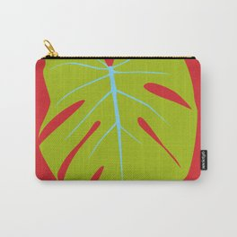 Tropical Leaf - Young Monstera Carry-All Pouch