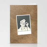 iron giant Stationery Cards featuring The Iron Giant - Dean McCoppin by Petia Koteva