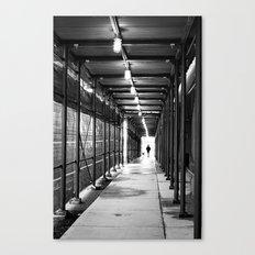 Walking Through Canvas Print