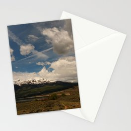 Dramatic Sky Over Twin Lakes Colorado Stationery Cards