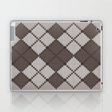 pattern series 059 argyle brown Laptop & iPad Skin