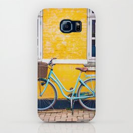 Bike and yellow iPhone Case