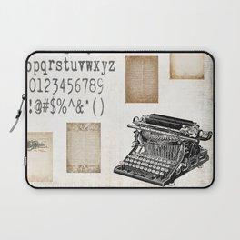 Vintage Office - Writers Block Laptop Sleeve