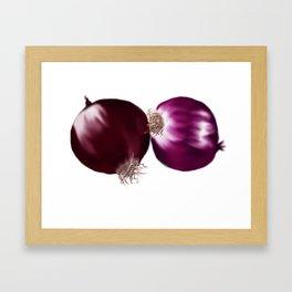 Red Onion Framed Art Print