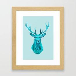 Blue Guardian Framed Art Print