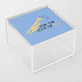 For The Love of Music Acrylic Box