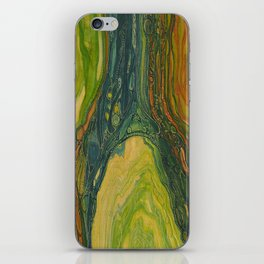 The Excavation of a Luminous Chamber (Enchanted Chemical Abyss) iPhone Skin