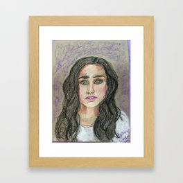 Jennifer Connelly Framed Art Print