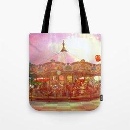 Merry Go Round Tote Bag