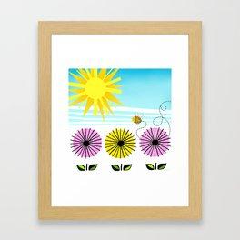 Buzzy As A Bee Framed Art Print