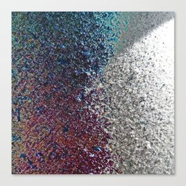 Colorful Dust in Sidelight Canvas Print